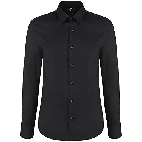 oodji Ultra Uomo Camicia Basic con Maniche Lunghe
