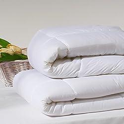 San Carlos Boreal - Relleno nórdico, densidad 300 g, relleno sintético de fibra hueca siliconada, color blanco