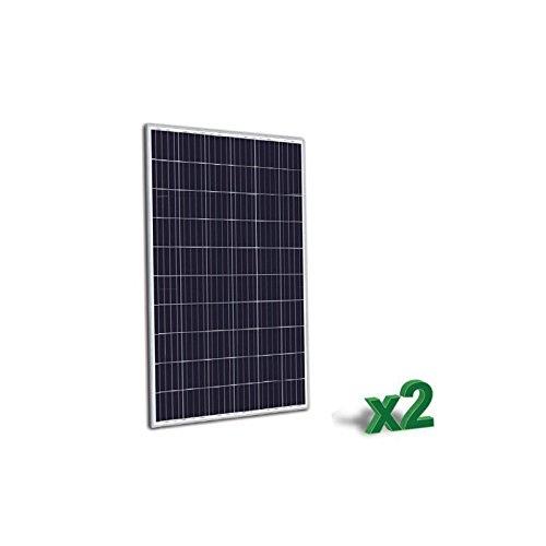 puntoenergia Italien–Set 2x Solarpanel Photovoltaik 270W 24V POLYKRISTALLIN 60Zellen Anlagen–set2-tr270p