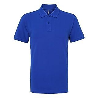 Asquith & Fox Asquith and Fox Men's Polo Shirt, Blue (Royal 000), Medium (Size:Medium)