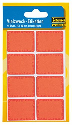 Idena 310157–Multiusos–Etiquetas, multicolor