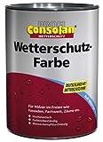 Consolan Profi Wetterschutzfarbe RM 202 grau 0,75 Liter
