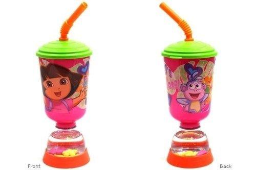 nickelodeon-dora-the-explorer-9oz-fun-floats-sipper-tumbler-drinking-bottle-by-nickelodeon