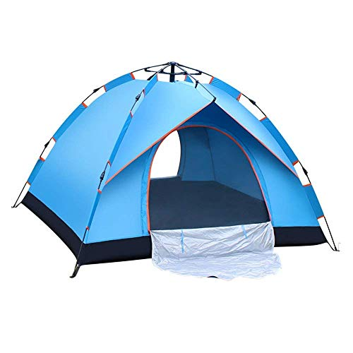 Extérieur Tente automatique Vitesse Family Camping épais étanche à la pluie 3-4 Personnes Camping