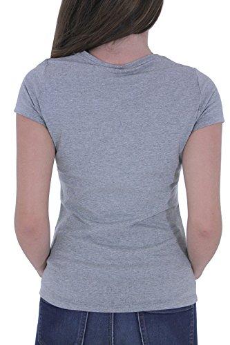 Pepe Jeans Puppy - T-shirt - Uni - Manches courtes - Femme Gris chiné