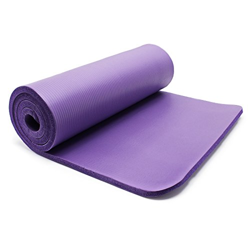 Alfombra de yoga 180x 60x 1.5cm Physio Fitness aeróbic Gym Pilates colchón antideslizante Extra grueso