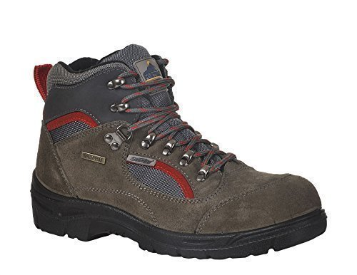 Portwest Herren Steelite Hiker Sicherheitsschuhe / Wanderschuhe (46 EUR/11 UK) (Grau) Mid Cut Hiker Boot