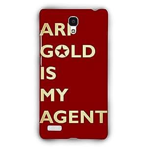 EYP Entourage Ari Gold Back Cover Case for Xiaomi Redmi Note