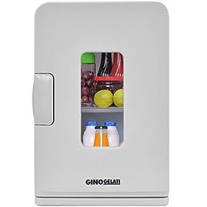 Gino Gelati 14 Liter 2 in 1 Mini Kühlschrank Kühlbox Warmhaltebox Campingkühlschrank 12 & 220 Volt, kühlt bis 25°C unter Umgebungstemperatur by Gino Gelati