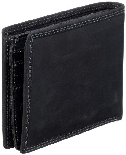 Strellson Baker Street Billfold H7 4010000048 Herren Geldbörsen 13x10x1 cm (B x H x T), Schwarz (black 900) Schwarz (black 900)