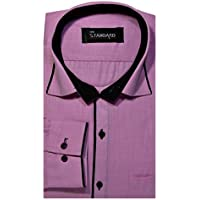 The Standard Men's Casual Wear Shirt (42, Pink)