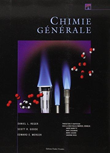Chimie Generale Manuel. par Goode Scoot R. / Mer