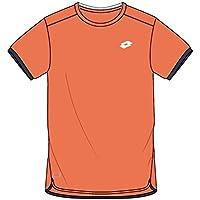 Lotto AYDEX IV tee B - Camiseta, Niño, Naranja(Ora 805/NVY