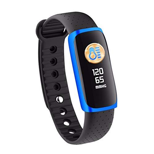 LRWEY Fitness Armband Herzfrequenz Smart Armband, Smart Watch Sport Fitness Aktivität Herzfrequenz Tracker Blutdruckkalorien, für iPhone Android Handy