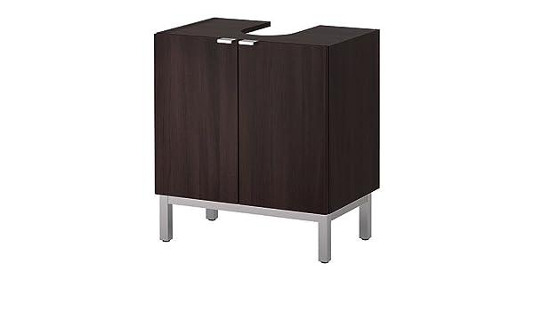 IKEA LILLANGEN Waschbeckenunterschrank mit 2 Türen und ... | {Waschbeckenunterschrank ikea 26}