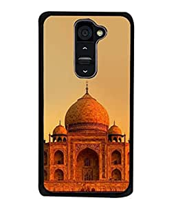 Fabcase Beautiful Tajmahal Designer Back Case Cover for LG G2