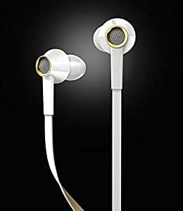 Latest Arrival Earphone with feature of Amazing Sound ||Attractive look ||Feet Taping Music sound ||Super Sound || Premium Look||3.5 mm Jack ||Super Soround Sound || Headphone || Earbuds || headset || with Mic ||Compatible with all Spice M-5400 Boss TV & All Android Phone