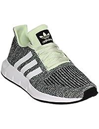 best sneakers d5c9a 97db0 Adidas Swift Run Sneaker, verde chiaronero, 8,5 UK - 42