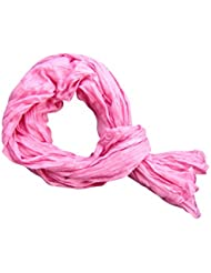 *** PROMOTION *** Chèche Foulard Écharpe - Rose - 100% coton (Dimension: 180 x 110 cm)