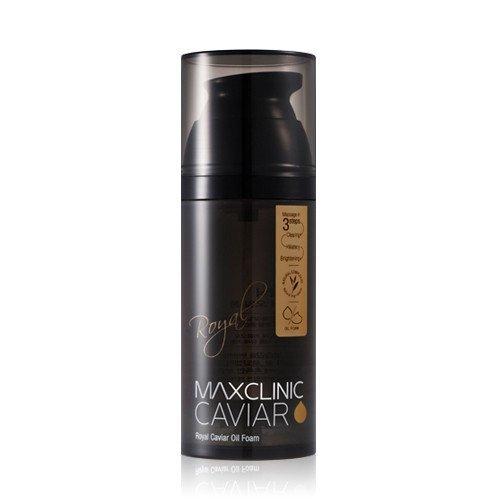 max-clinic-royal-caviar-foam-viso-schiuma-con-caviale-black-pearl-olio-di-argan-e-miele-contro-unrei