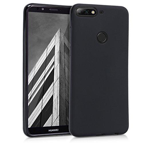 kwmobile Huawei Y7 (2018)/Y7 Prime (2018) Hülle - Handyhülle für Huawei Y7 (2018)/Y7 Prime (2018) - Handy Case in Schwarz matt
