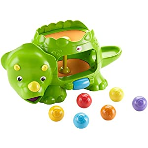 Fisher-Price Double Popping Dino Musical Ball popper