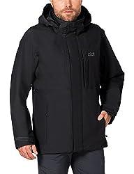 Details zu Jack Wolfskin Brooks Range Flex Jacket Herren türkis *UVP 199,95