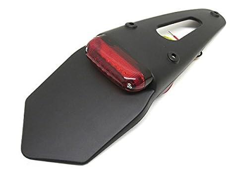 MKX Enduro Support de plaque avec feu arrière LED pour