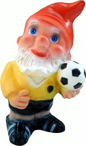 Gartenzwerg Fußballer 20 cm Zwerg Germany Garten bruchfest PVC Deko GRS 0979F