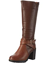 XTI 46218, Zapatillas de Estar por Casa para Mujer, Amarillo (Camel), 39 EU