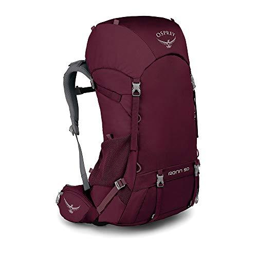 Osprey Renn 50 belüfteter Trekkingrucksack für Frauen - Aurora Purple (O/S)