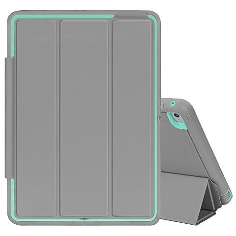 Top Munster iPad Air 2 Case,3 In 1 PC +