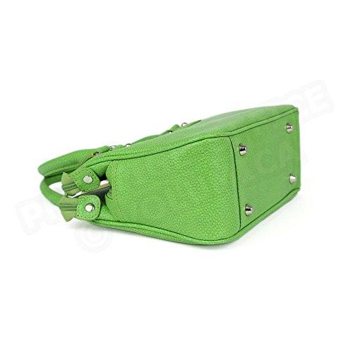 Mini sac Monaco cuir Fabrication Luxe Française Vert