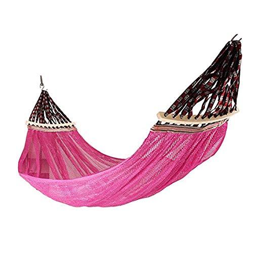 MMMMM Hängematte Camping Outdoor HammockDouble Mesh Ventilation,