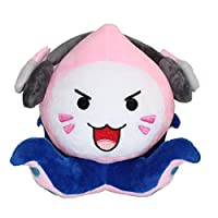 Bellagione OW Overwatch Pachimari Plush Toy Kawaii Animal Gaming Lover Cosplay Gifts for Game Cos (pink)
