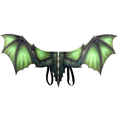 XLOW Angel Wings, Dragon Wings, Kostüm-Abendkleid-Partei Big 95 X 45 Deluxe Open Arms Flügel Cosplay, Halloween,3
