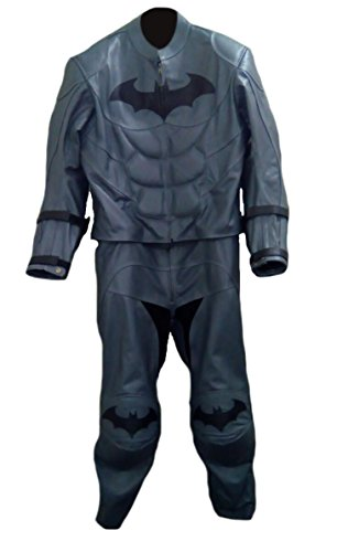 Classyak Herren Batman Motorrad Echt Leder Kostüm Anzug Hohe Qualität