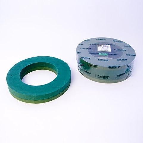 Pack of 2 Oasis Foam Wreath Rings 14