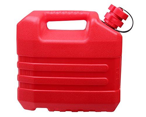 Preisvergleich Produktbild Ondis24 Benzinkanister Reservetank Kanister für Kraft- & Schmierstoffe integrierter Ausgießer & Tropfschutz UN-Zulassung 10 Liter
