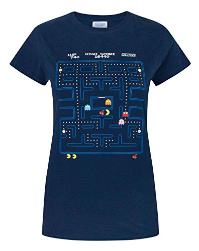 Women's Pacman 80s Maze T-shirt - S to XXL