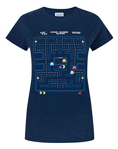 damen-pac-man-pac-man-t-shirt-s