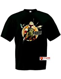 Camiseta Star Wars (cazarecompensas) (Talla: 9-10 años)