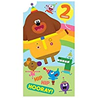 Hey Duggee HD001 Age 2 Birthday Card