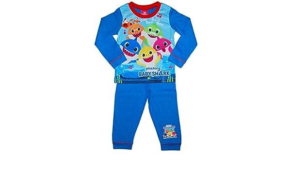 Baby Shark Jungen Schlafanzug DOO DOO DOO DOO DOO PinkFong