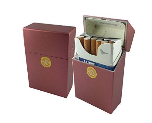 Offre Lagiwa - Etui à paquet de 20 cigarettes couleur au choix avec 1 cadeau bonus (Rouge)