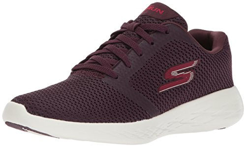 Skechers - Go Run 600 - Refine Burgundy Textile/Trim