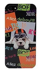 Akashi Coque pour iPhone 5/5S Debout Puppy