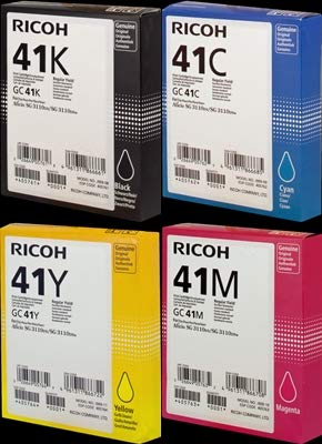 Ricoh GC41 / GC-41 original Gel Set C M Y K