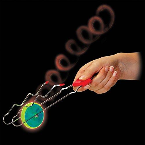 Tobar Física juguete del Light-up, con rueda cinética