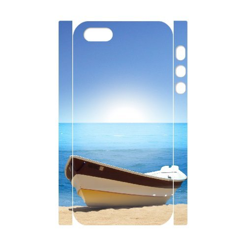 LP-LG Phone Case Of Island Beach For iPhone 5,5S [Pattern-6] Pattern-2